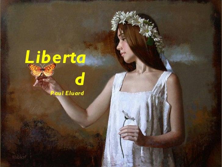 Libertad Paul Eluard