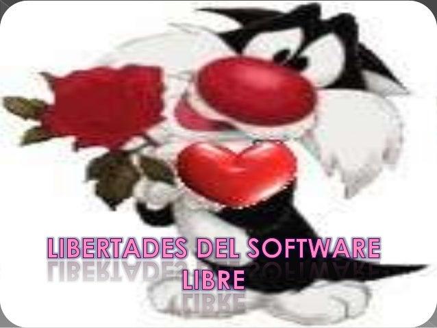 Libertades del software libre Slide 2