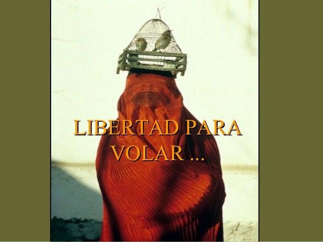 LIBERTAD PARA   VOLAR ...