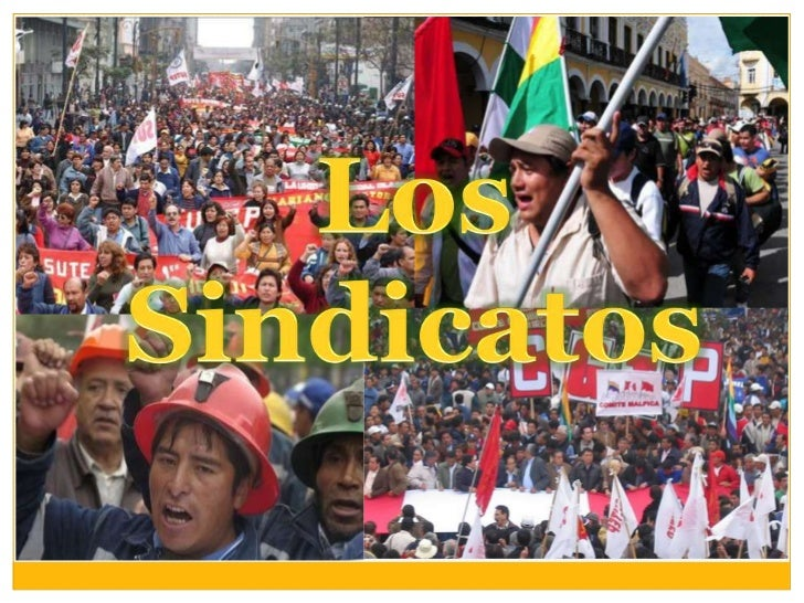 Los Sindicatos<br />