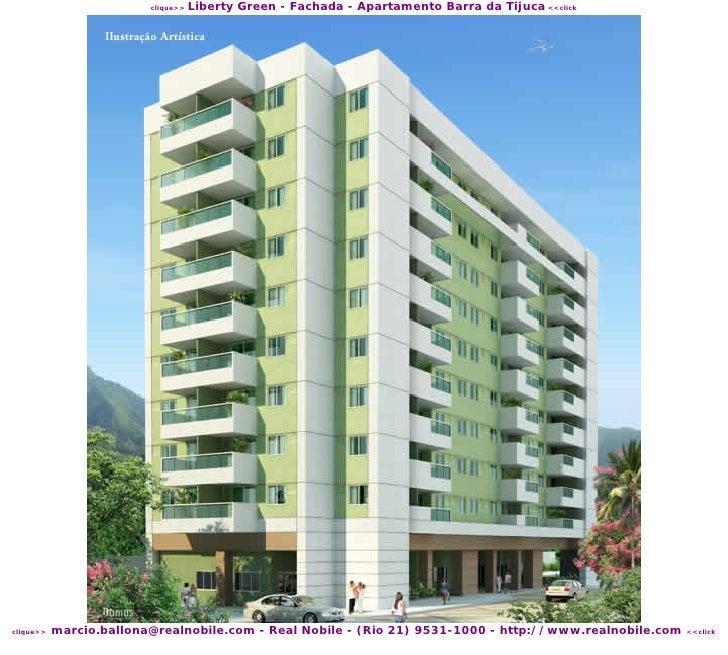 Liberty Green - Fachada - Apartamento Barra da Tijuca <<click                          clique>>                marcio.ball...