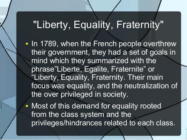 Célèbre Liberty, equality, fraternity JH59