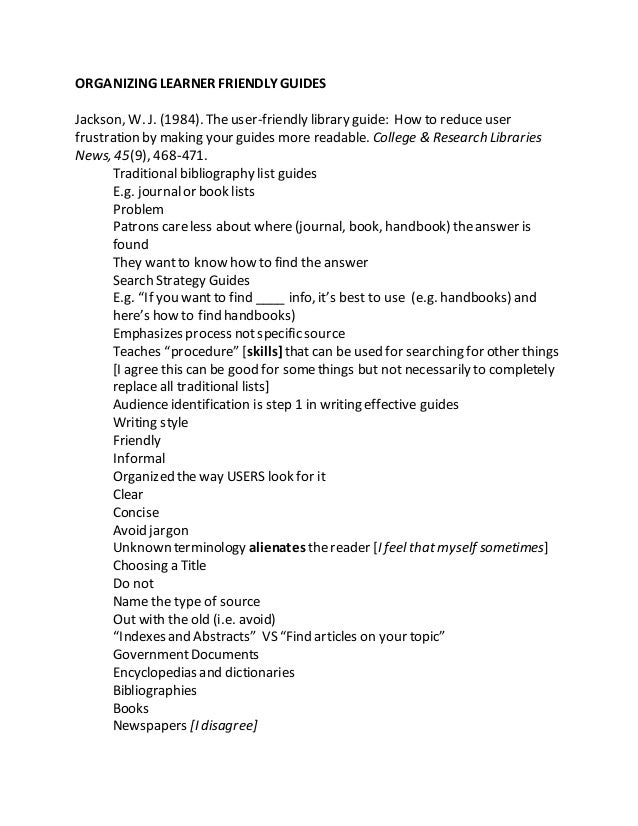 libguides annotated bibliography by subject rh slideshare net Darius GOES West Spinners Darius Weems