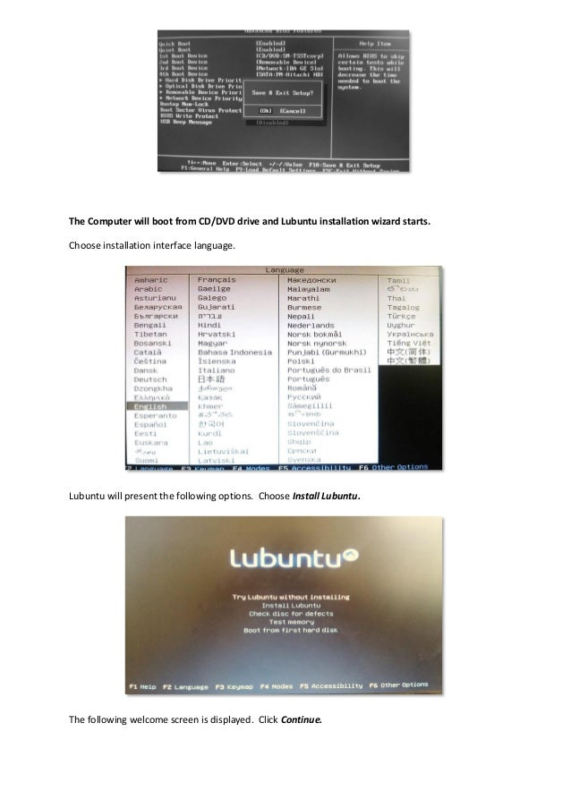 Installation of DSpace, Koha and other software using Liblivecd
