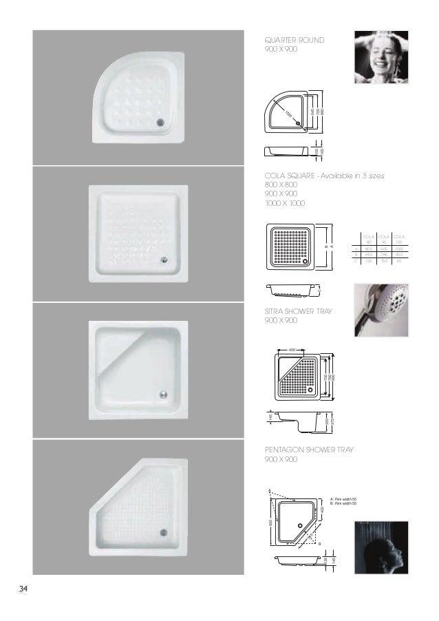 Standard Shower Tray Sizes - Best Showers Design