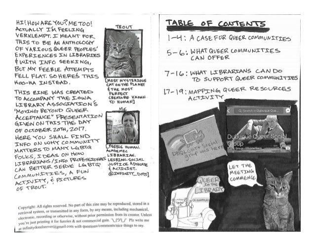 Librarian field notes digital slide version Slide 2
