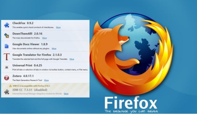 Idmcc For Firefox 42 Download
