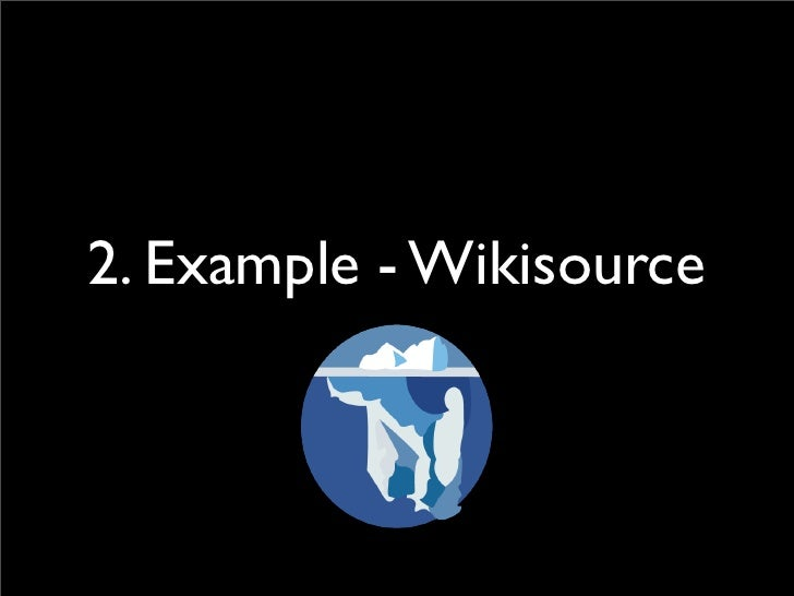 2. Example - Wikisource