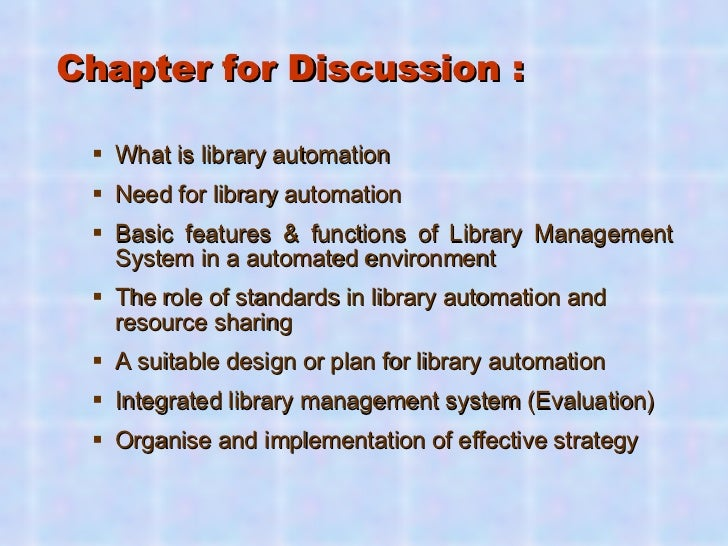 Library Automation A - Z Guide: A Hands on Module Slide 2