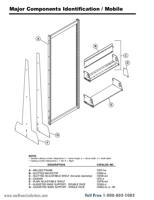 Library Cantilever Shelving Installation Manual