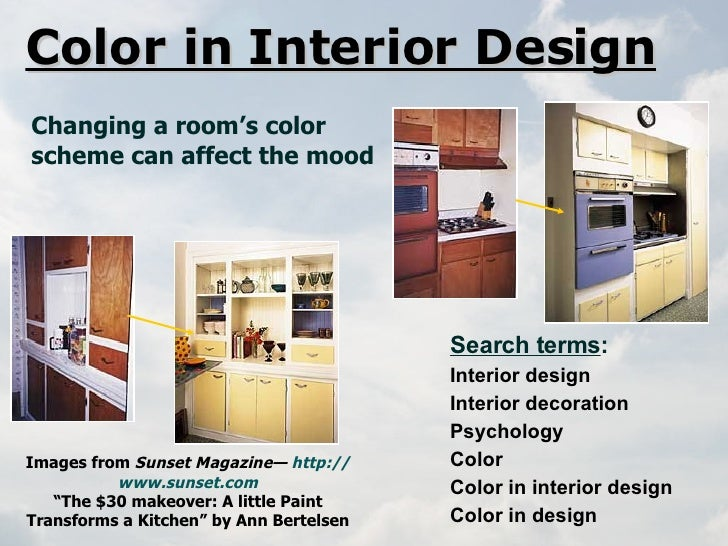 Colour Theory Interior Design library instruction for color theory (extended)
