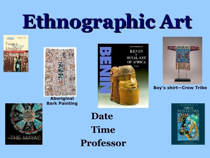 Ethnographic Art Date  Time Professor Aboriginal Bark Painting Boy's shirt— Crow Tribe