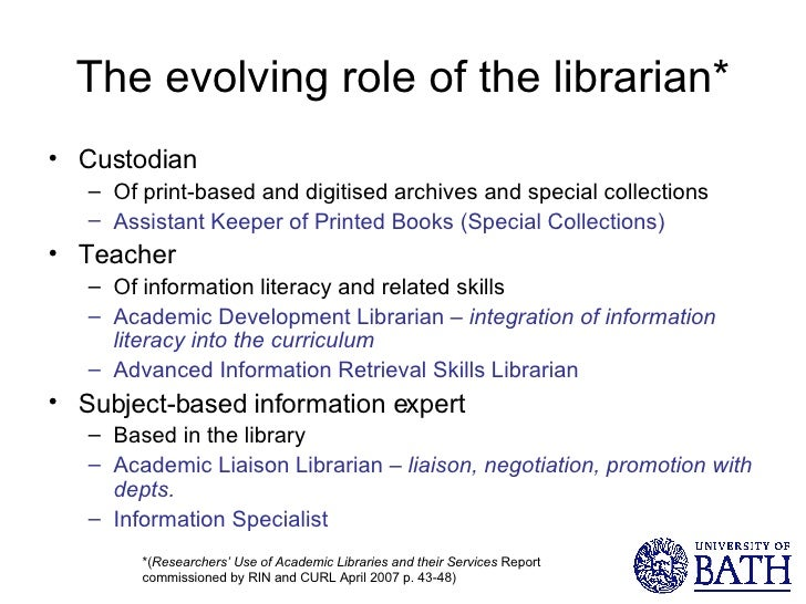 how to become an academic librarian