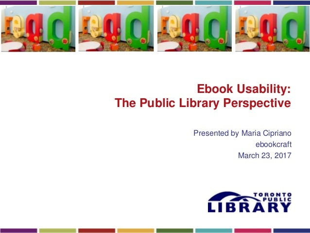 Ebook usability from the librarys perspective sharon bailey maria ebook fandeluxe Image collections
