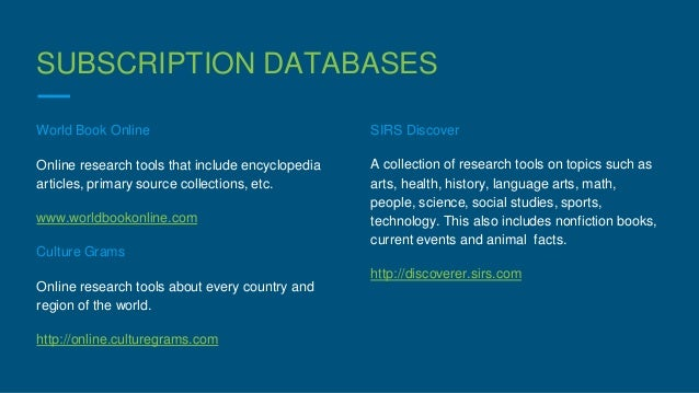 online research databases for students 101 free online journal and research databases for academics about this resource this resource was designed to help students, academics, and researchers access the.
