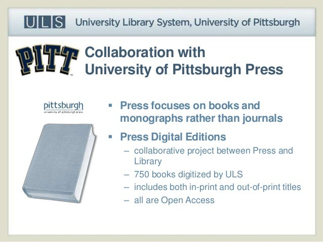 pitt library dissertations Search for library resources via discovery: full text peer reviewed catalog only advanced discovery search search the library catalog for books and more: keyword your browser does not support iframes regular library hours: mon-thurs: 7:45 am - 12 mid friday: 7:45 am - 7:00 pm saturday: 10:00 am - 6:00.