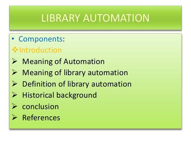 Library automation history Anandraj.L Slide 2