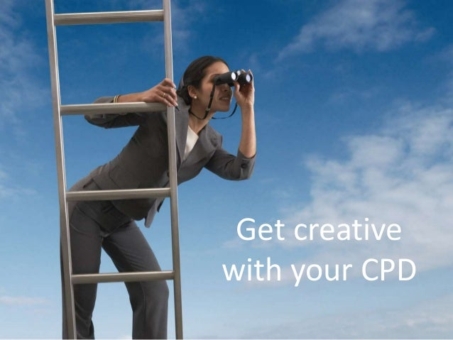 Get creative with your CPD