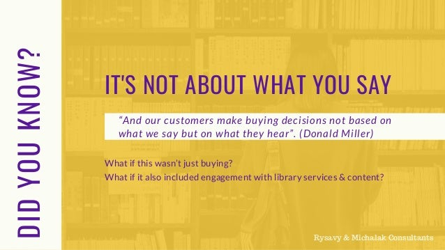 Engaging Library Customers with Library Services & Content Slide 3