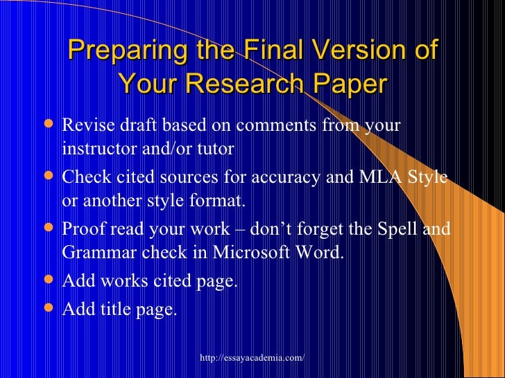 develop research paper Forming research questions and identifying key concepts view worksheet after you have chosen a research paper topic, developing research questions and identifying key concepts helps you write a strong thesis statement and conduct structured research.