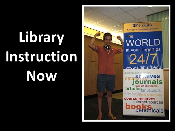 Library Instruction Now<br />