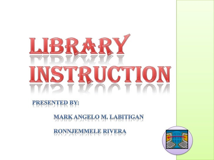 Library Instructionopac