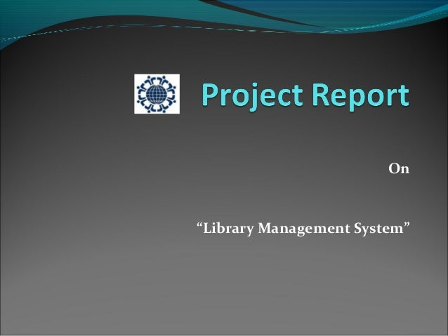 "On     ""Library Management System"""