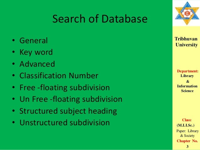 Library of congres subject headings lchs
