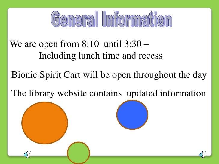 Library orienaion Slide 3