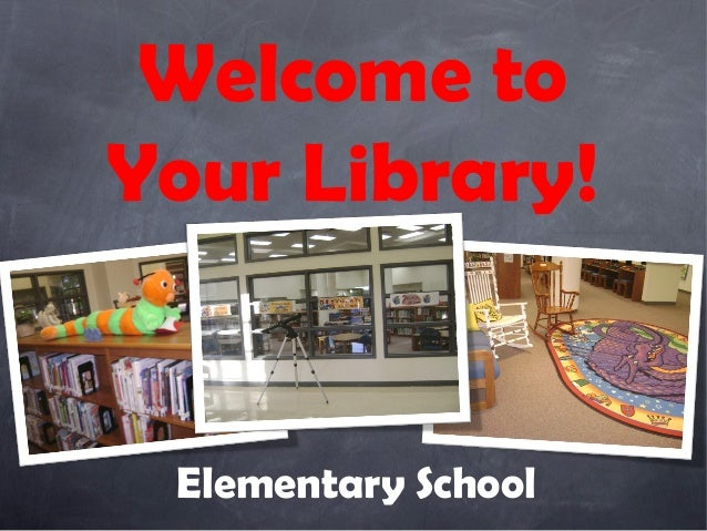 Library Orientation Power Point