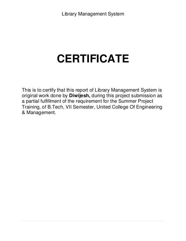 Literature review on library management system