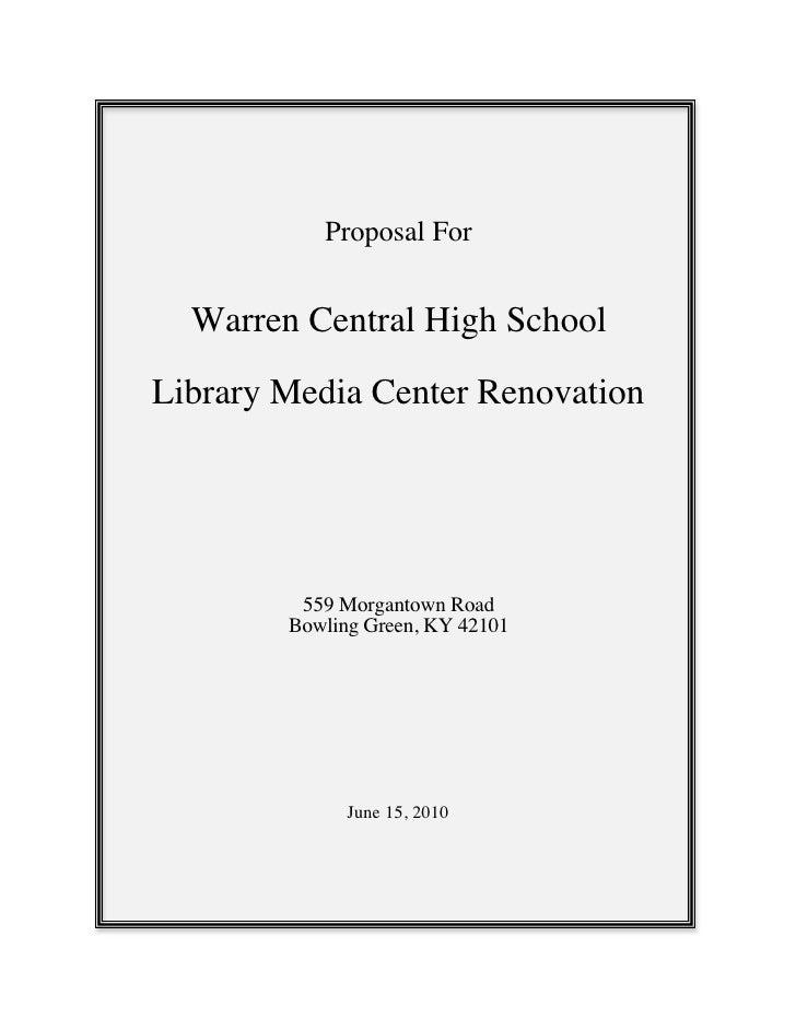 Library Proposal Slide 2