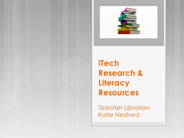 Library Research And Lit Resources - Lit design 2015
