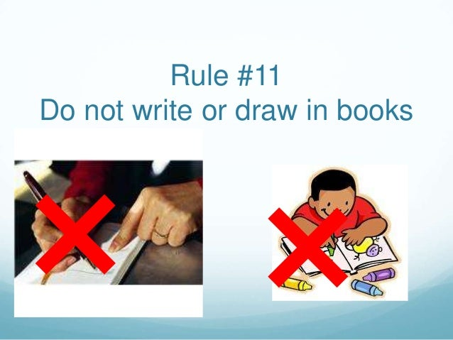 Image result for do not write in books