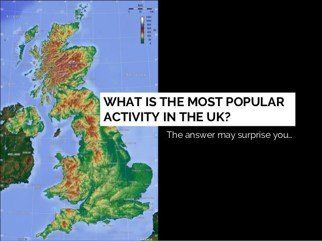 WHAT IS THE MOST POPULAR ACTIVITY IN THE UK? The answer may surprise you…