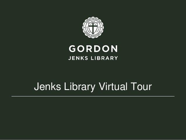 Jenks Library Virtual Tour