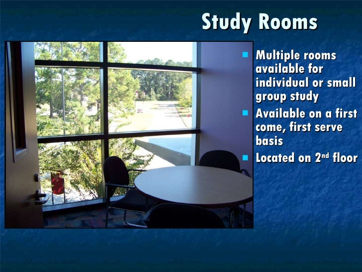 Lonestar Reserve Study Rooms