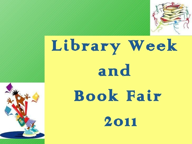 Library Week  and  Book Fair 2011