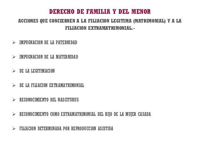 Libre todas clases flia 2013 for Derecho de paternidad