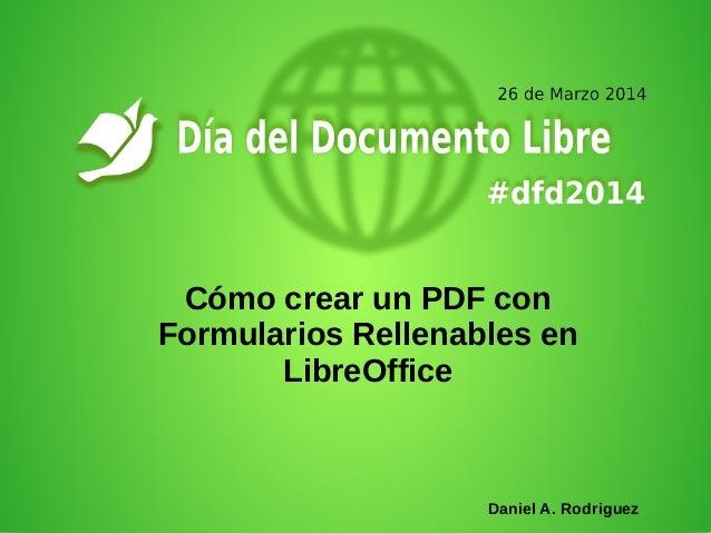 libre office formulaire en pdf