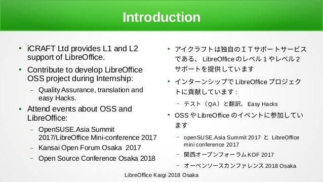 LibreOffice Development: QA and Translation Slide 3