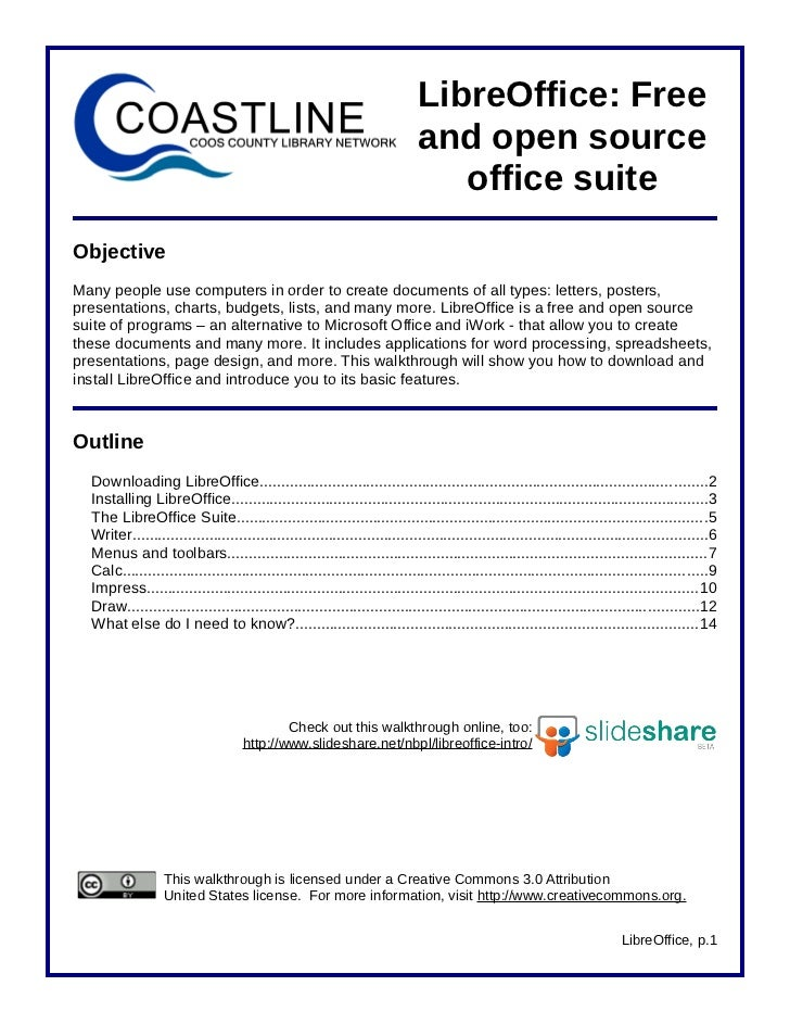 LibreOffice: Free                                                                            and open source              ...