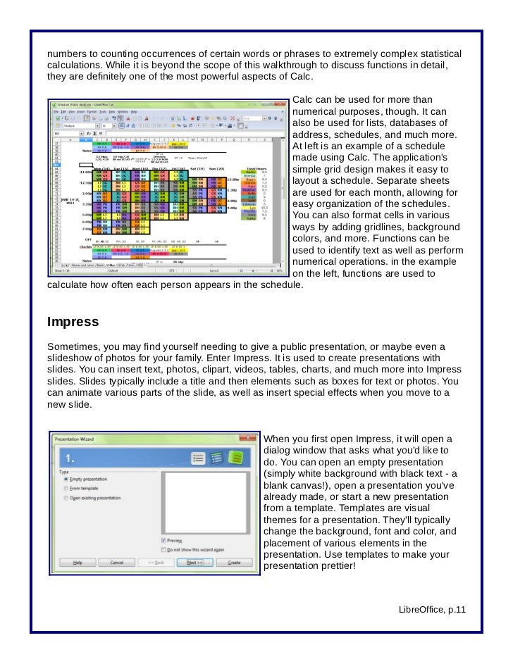 Introduction to LibreOffice