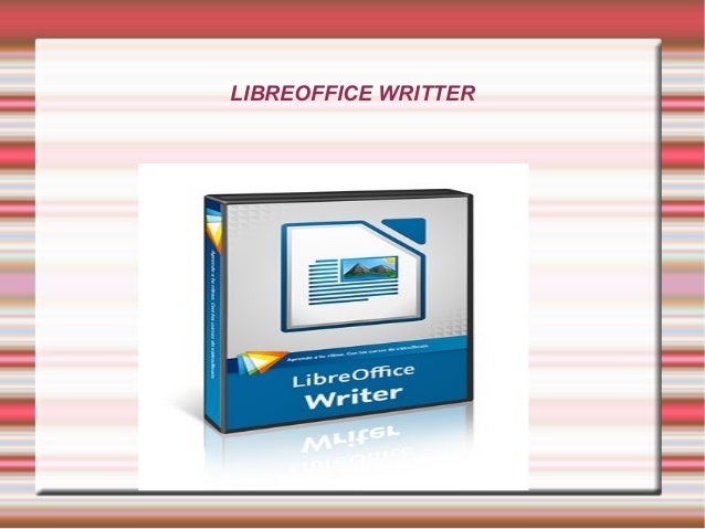 LIBREOFFICE WRITTER