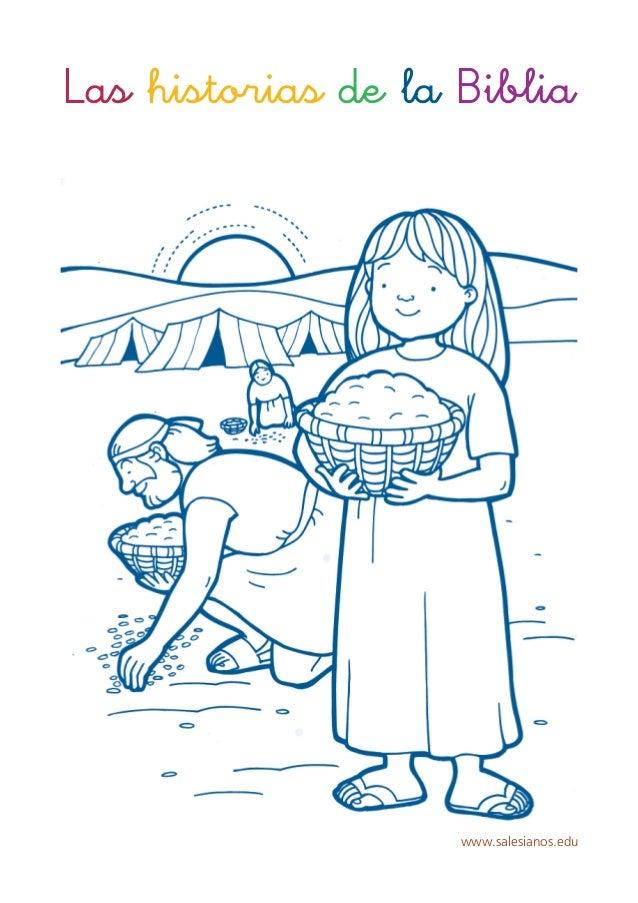 Libreta historias biblicas