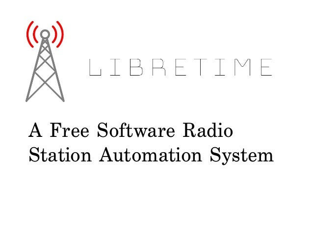 A Free Software Radio Station Automation System