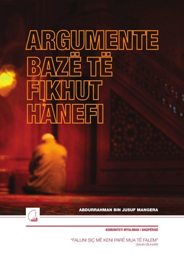 """Argumente bazë të Fikhut Hanefi """"Faluni siç më keni parë mua të falem."""" (Sahih Buhari)"""
