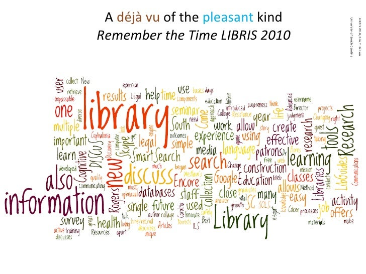 A  déjà vu  of the  pleasant  kind Remember the Time LIBRIS 2010
