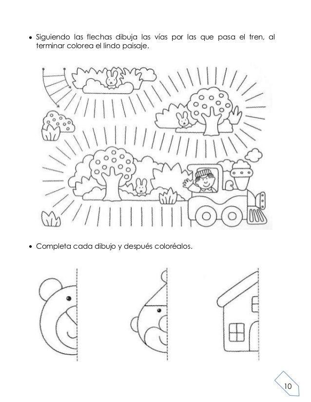 Libro de tareas para preescolar