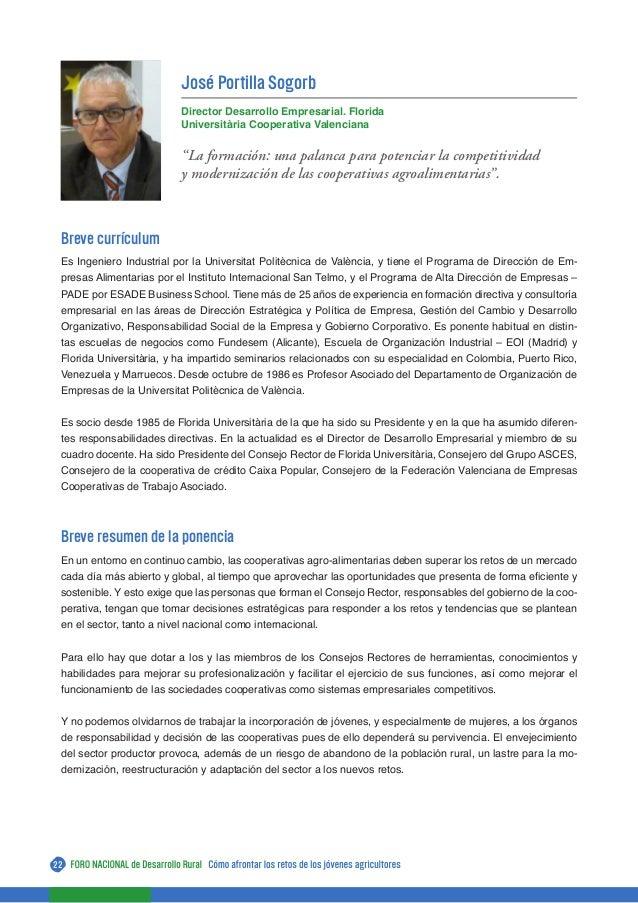 Libro del V Foro Nacional de Desarrollo Rural